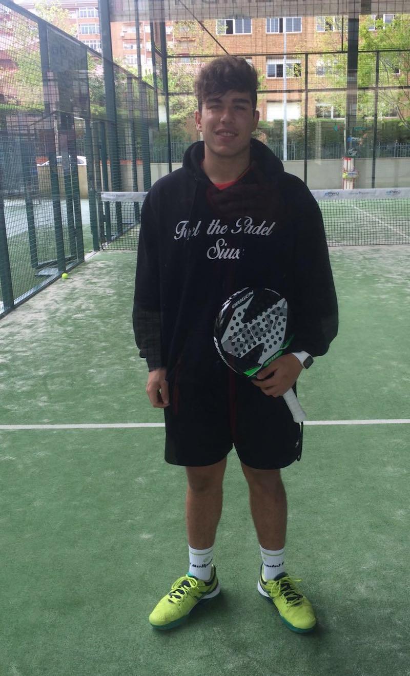 Javier Rodríguez, número 1 junior de Extremadura, ficha por Siux