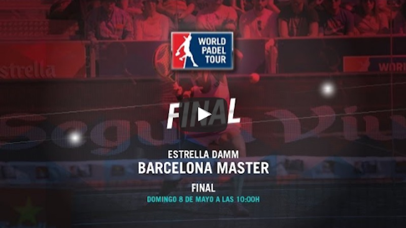 Final femenina Máster World Padel Tour Barcelona 2016 online