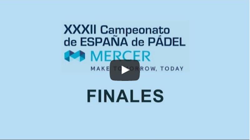 Finales Cto de España Absoluto en directo y online