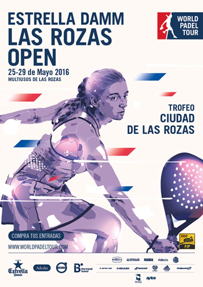 Inscritos y ranking masculino World Padel Tour Las Rozas 2016