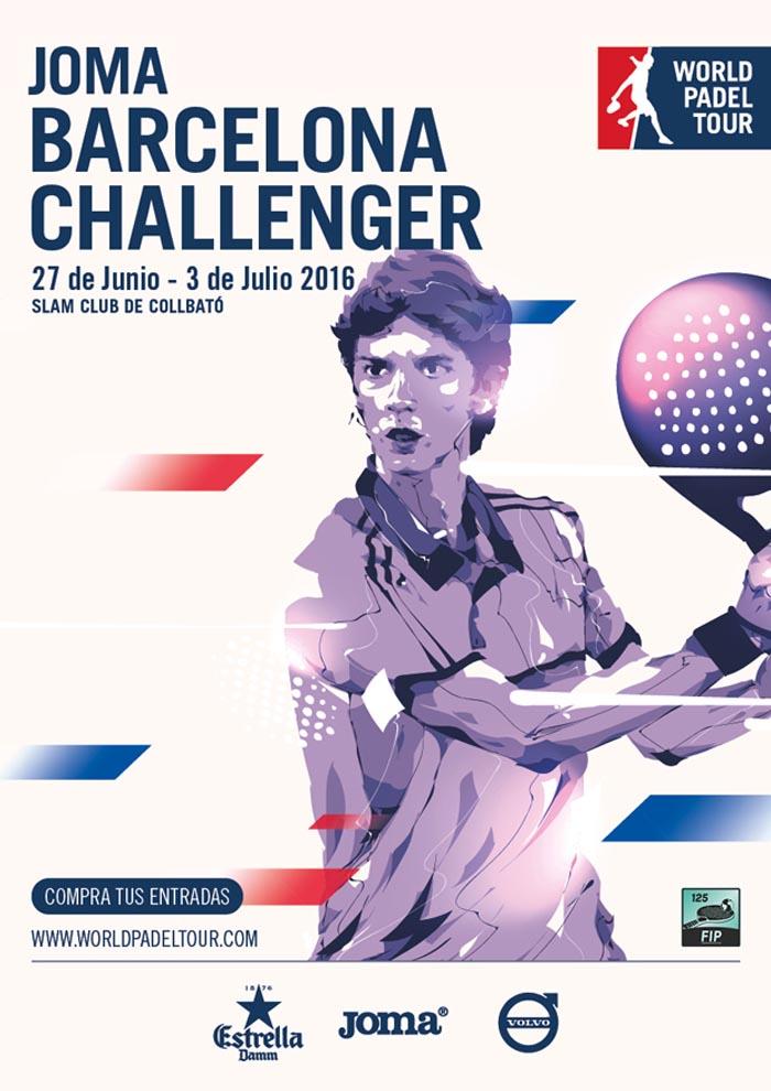 Cuadros y horarios World Padel Tour Challenger Barcelona 2016