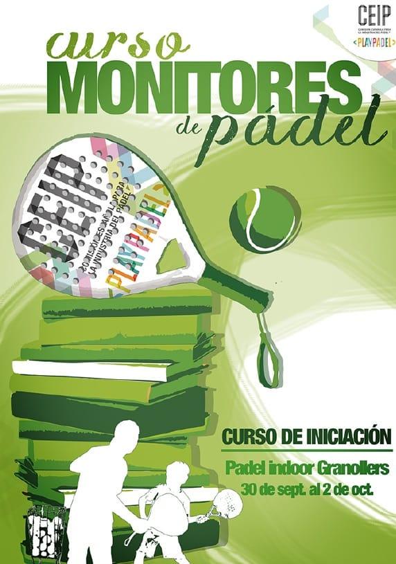 Cursos para monitores de pádel de CEIP