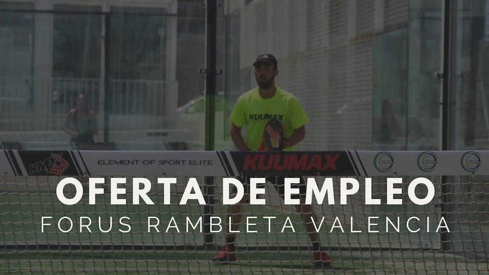 Oferta de empleo Valencia