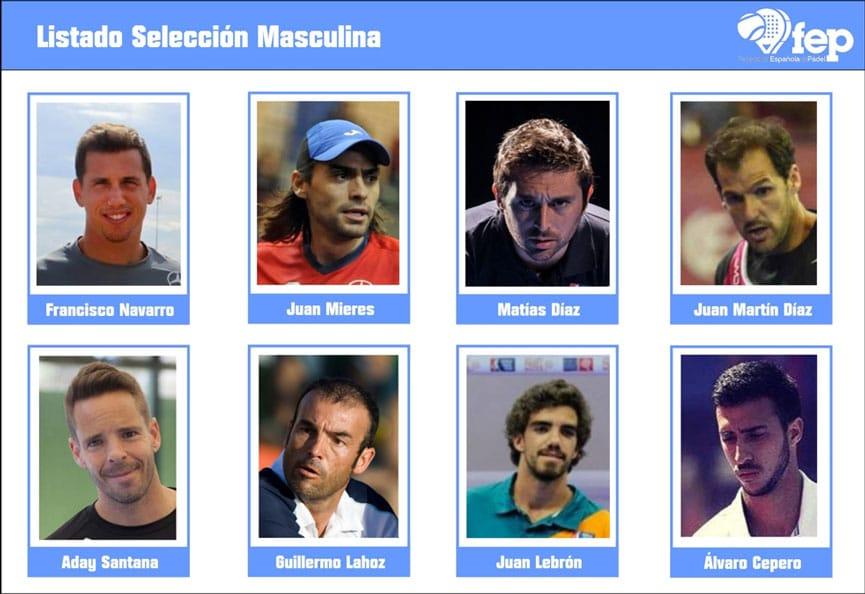 Seleccion española masculina mundial 2016