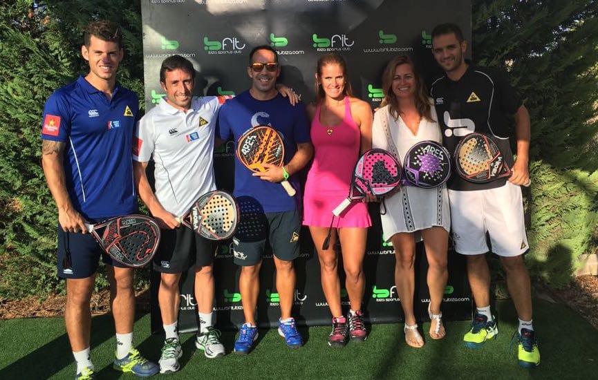 El Vibor-A Team en el club Bfit Ibiza