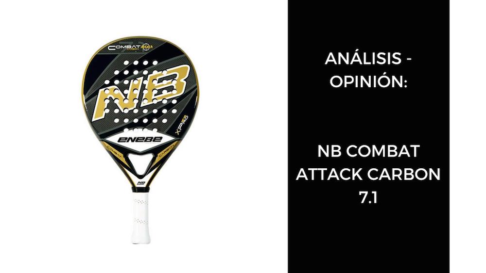 Análisis y opinión NB Combat Attack Carbon 7.1