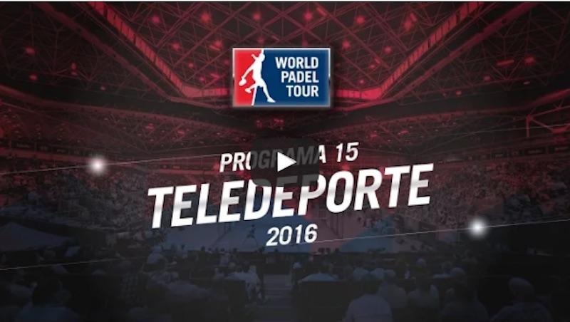 Programa 15 World Padel Tour 2016
