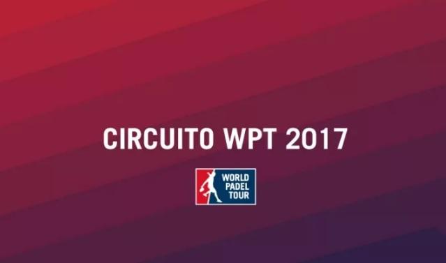 Calendario oficial WPT 2017 Calendario oficial World Padel Tour 2017