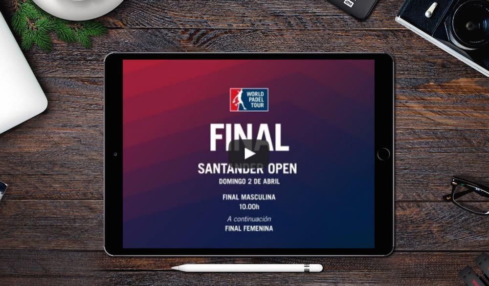 Finales WPT Santander 2017 Finales World Padel Tour Santander 2017 en directo y online