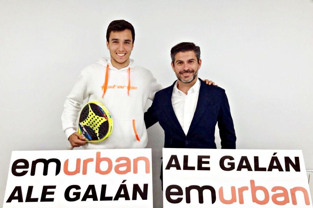 emurban patrocinador ale galan EMURBAN, nuevo patrocinador de Ale Galán