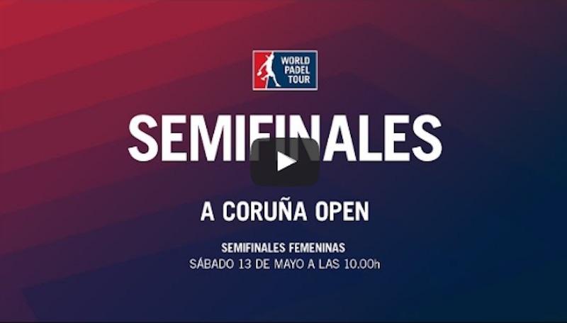 Semifinales WPT Coruña femeninas 2017 directo Parejas uno y dos en las finales del A Coruña Open