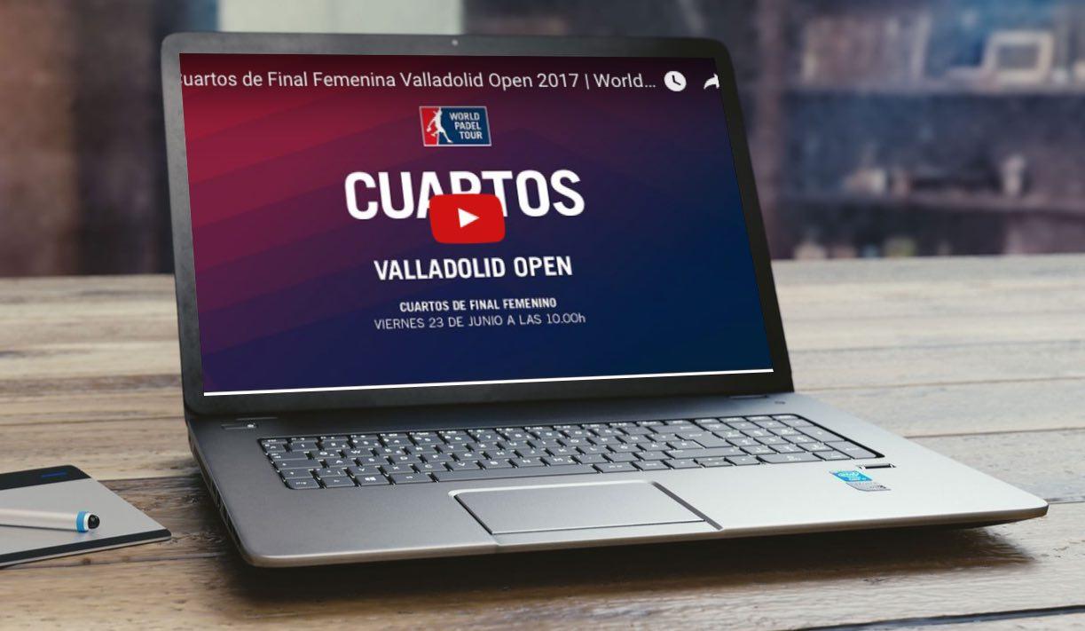 Cuartos femenino directo WPT Valladolid 2017 Cuartos femeninos World Padel Tour Valladolid 2017 en directo y online