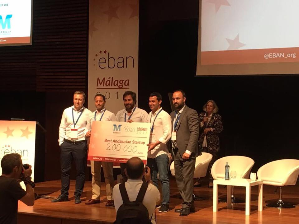 Padel Manager Mejor Startup Andaluza EBAN Málaga 2017 Padel Manager, Mejor Startup Andaluza en EBAN Málaga 2017