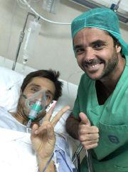 Fernando Belasteguin, operado con éxito de su rodilla