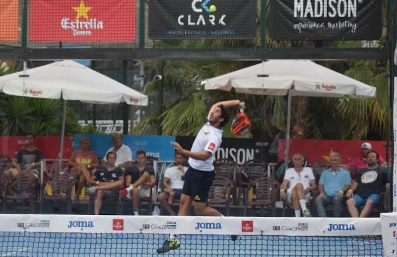 Martin Sanchez Piñeiro Las sorpresas invaden los octavos de final del JOMA Cabrera de Mar Challenger