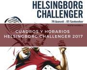 Cuadros y horarios World Padel Tour Challenger Helsingborg 2017