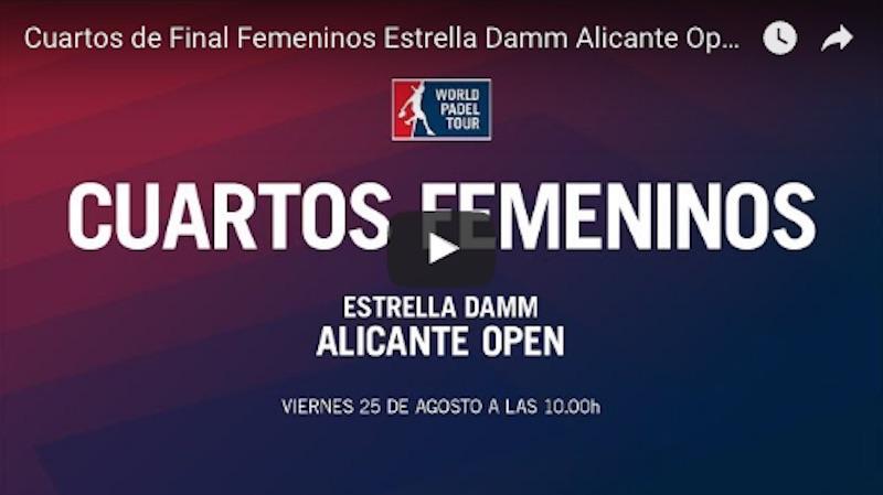 Cuartos femeninos WPT Alicante 2017 online