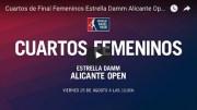 Cuartos femeninos World Padel Tour Alicante 2017 en directo y online