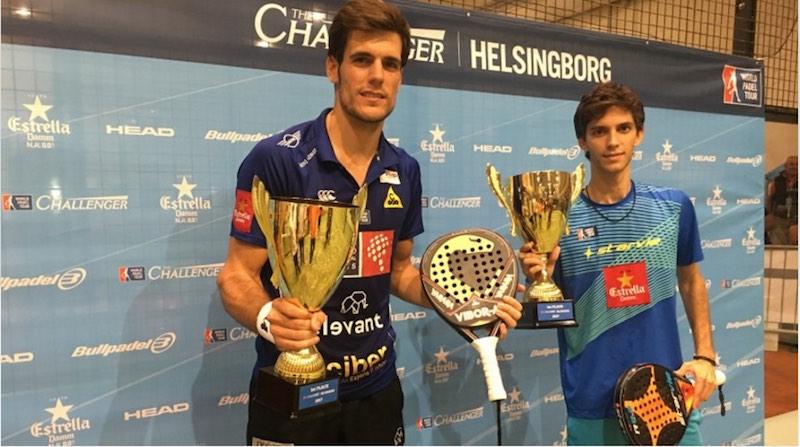Campeones Helsingborg Challenger 2017 Maty Marina y Air Concepción hacen historia tras vencer el Helsingborg Challenger 2017