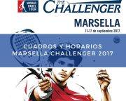 Cuadros y horarios World Padel Tour Challenger Marsella 2017