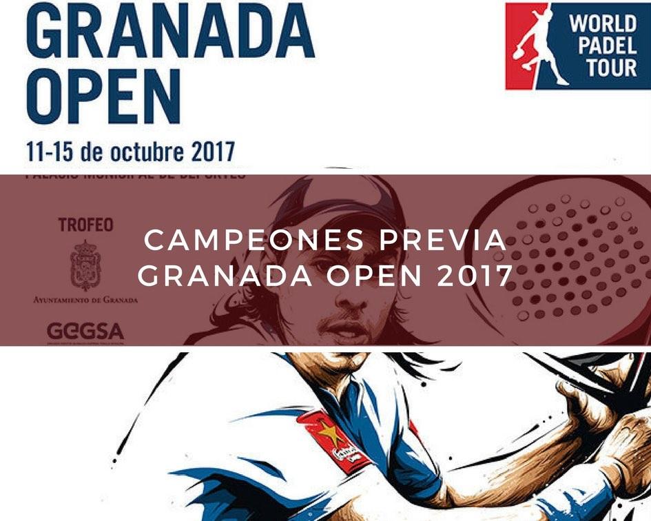 Campeones Previa World Padel Tour Granada 2017