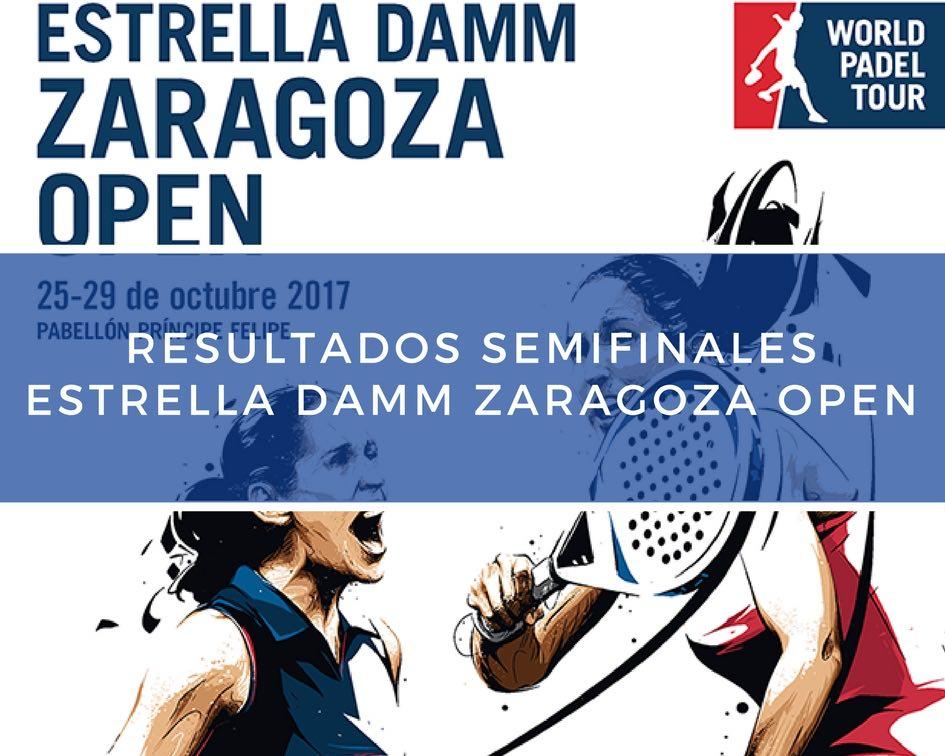 Resultados semifinales World Padel Tour Zaragoza 2017