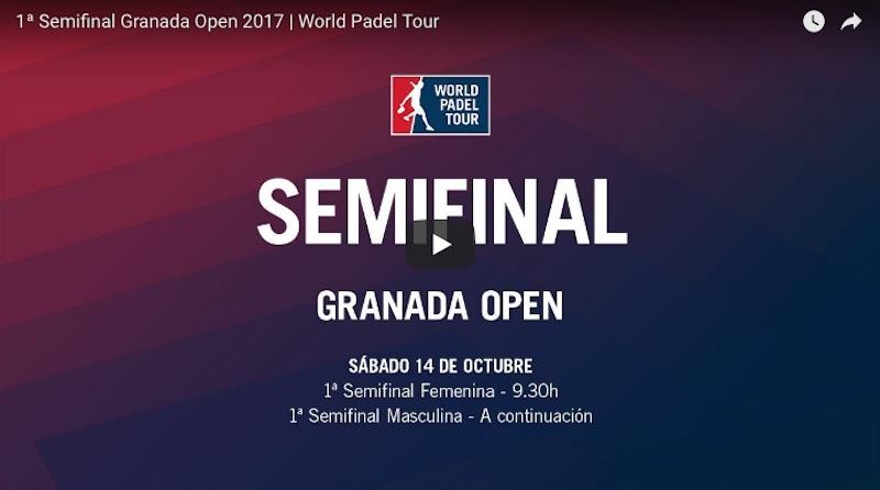 Semifinales mañana WPT Granada 2017 Resultados semifinales World Padel Tour Granada 2017