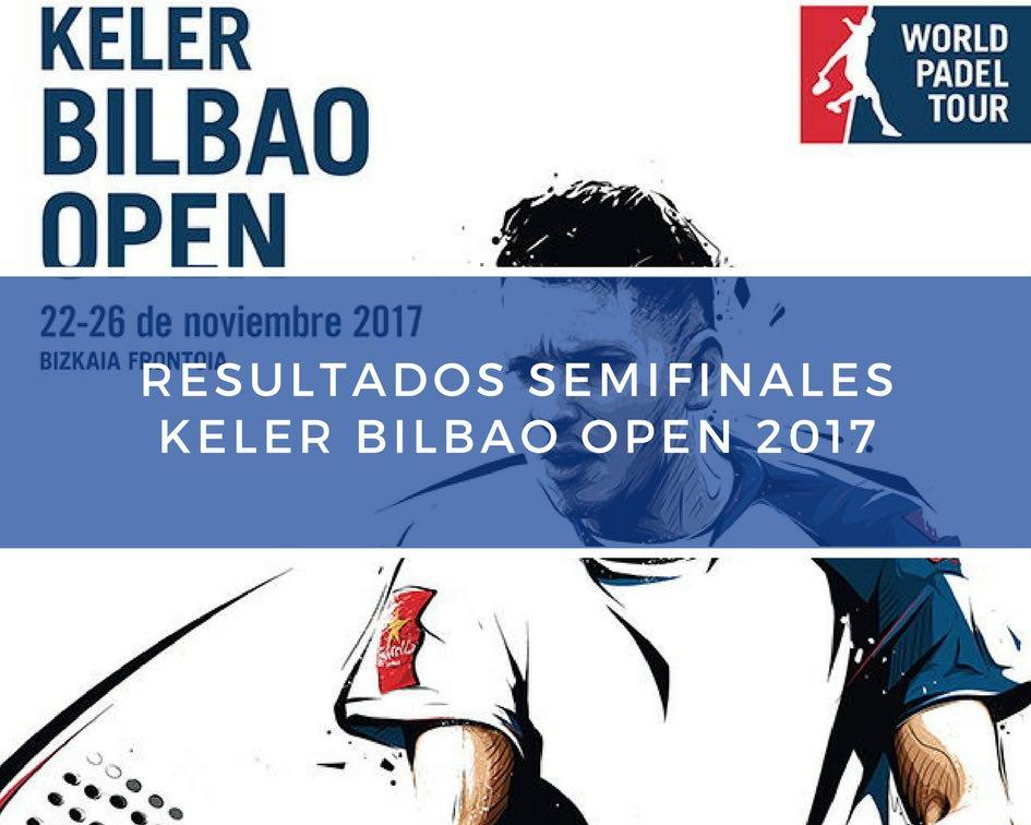 Resultados semifinales World Padel Tour Bilbao 2017