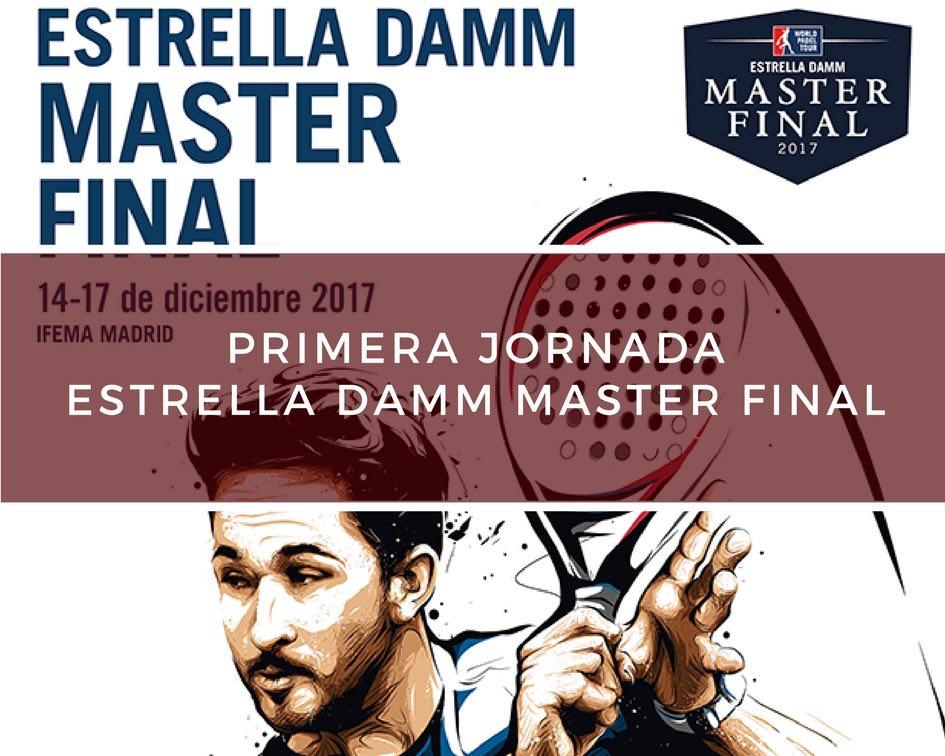 Primera jornada master WPT 2017 Crónica Primera jornada Master Final World Padel Tour 2017