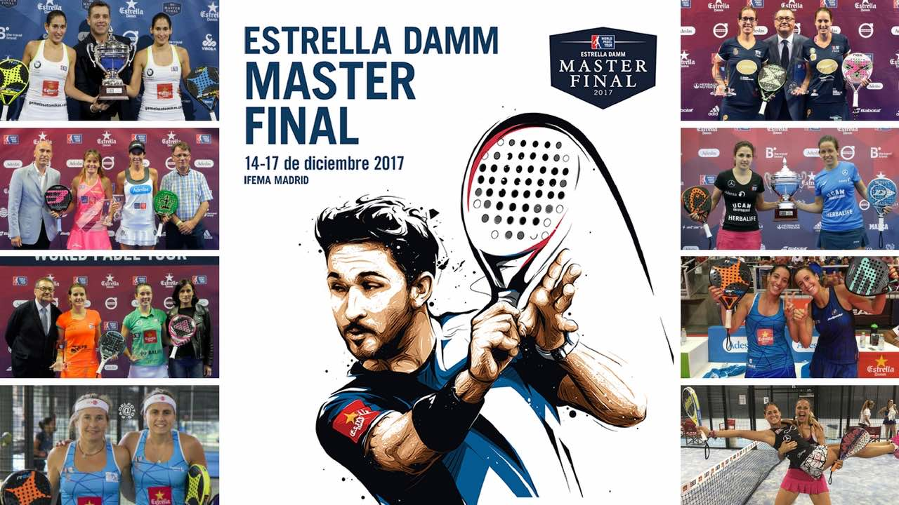 Parejas y ranking femenino Máster final World Padel Tour 2017