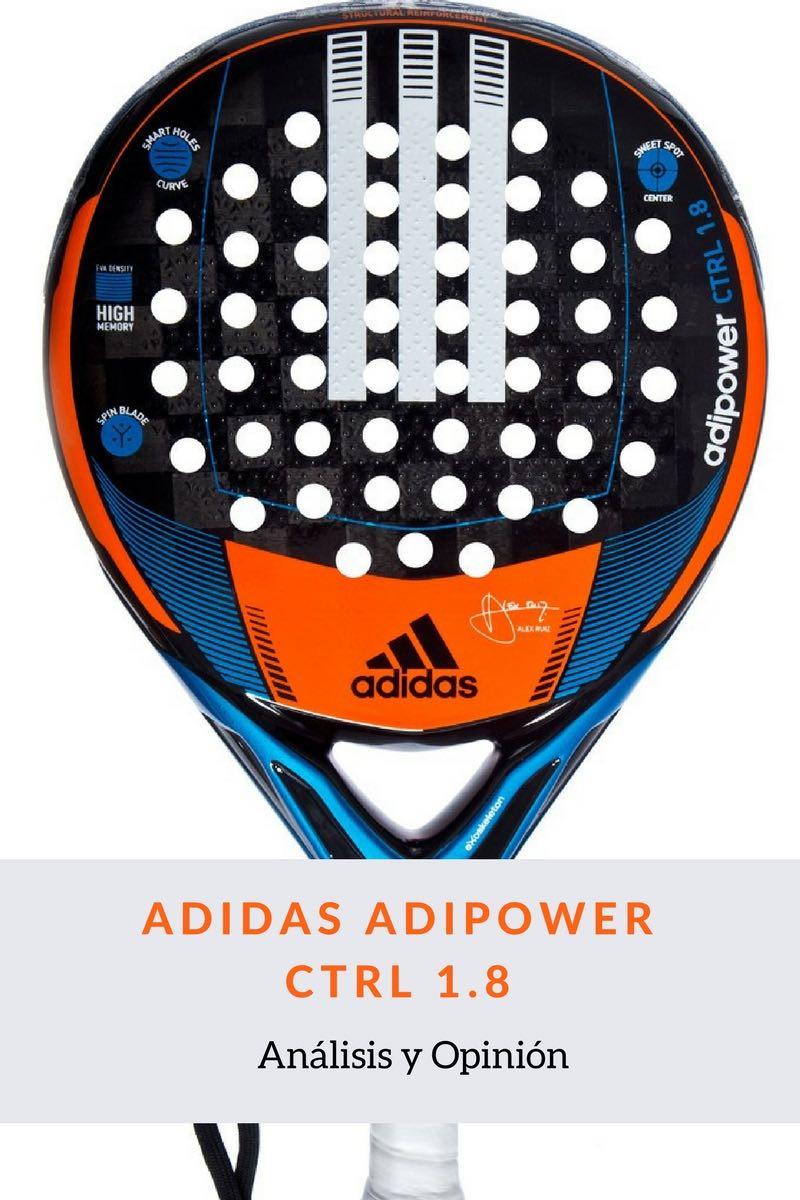 Análisis y Opinión Adidas Adipower Ctrl 1.8