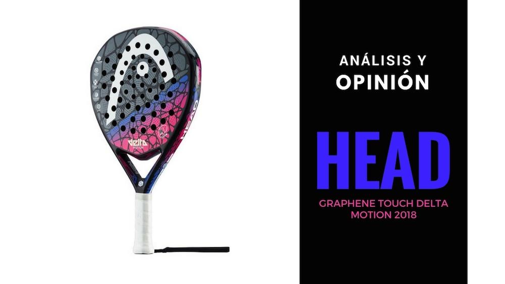 Head Graphene Touch Delta Motion 2018