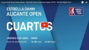 Cuartos de final World Padel Tour Alicante 2018 en directo y online