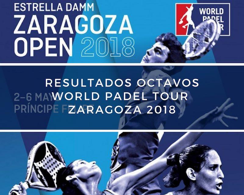 Resultados octavos de final World Padel Tour Zaragoza 2018