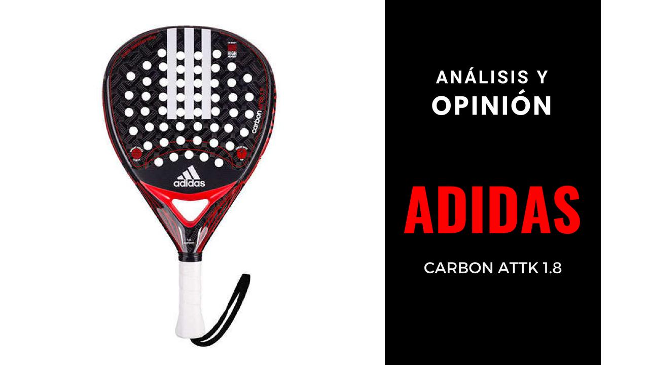 Análisis y Opinión Adidas Carbon Attk 1.8