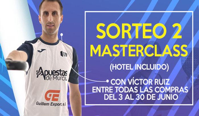 Masterclass Victor Ruiz Padel Nuestro sortea dos masterclass con un jugador World Padel Tour