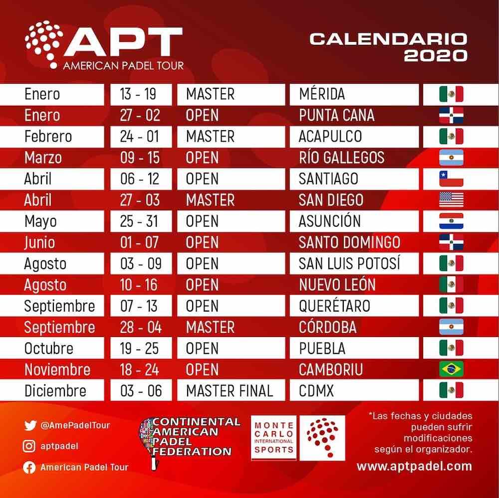 APT American Padel Tour se estrena en la cuna del pádel