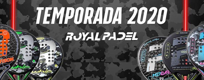 Nueva colección de palas Royal Padel 2020