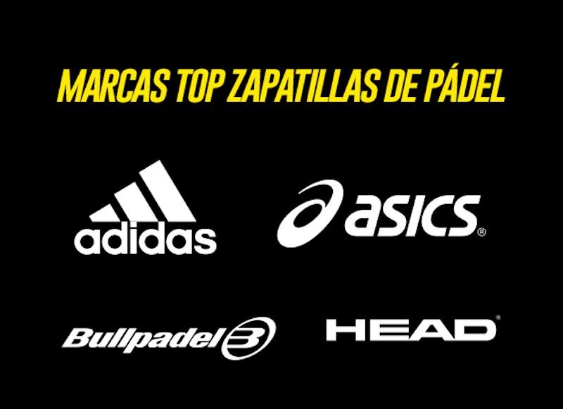 marcas top zaptillas de padel Las mejores marcas de zapatillas de pádel