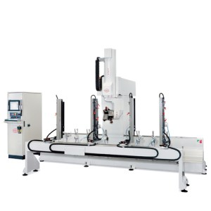 PADE Omega CNC work center Mobile Travers 5 axis