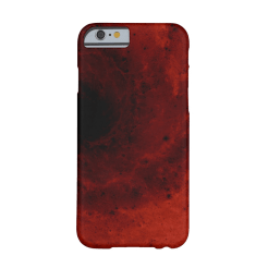 Abstract deep red vortex iPhone case