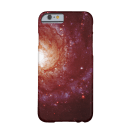 Messier 74 galaxy red tints