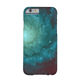 Galaxy photograph red green tints iPhone case
