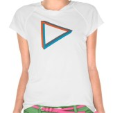 Impossible objects - Triangle - Lady Tshirt