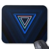 Nested impossible triangle mousepad