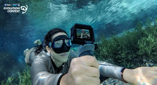 Go Pro - PADI - Contest - Evolution Contest