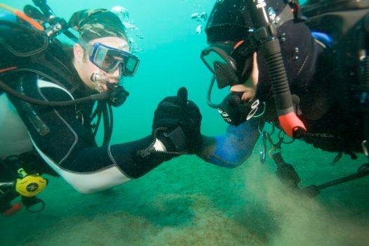 Diving Buddy - Scuba Divers - Underwater - Ocean