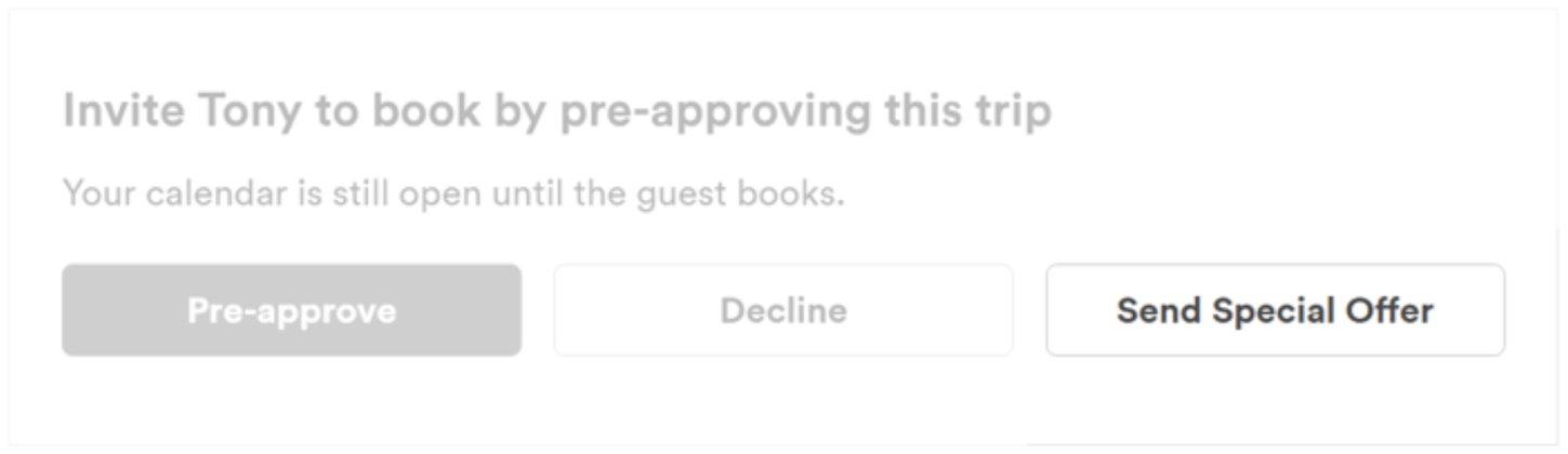 Sending Guests a Special Offer on Airbnb - Padlifter