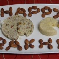 Kalakand - Dry fruits kalakand and pineapple kalakand