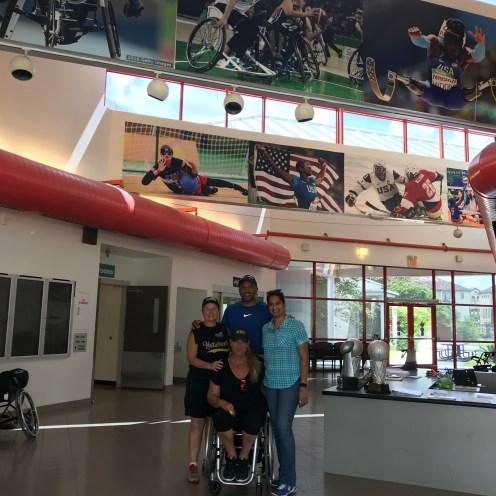 With Peggy Turner, John Register and Karin Korb in Houston, 2018